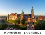 Historic Royal Wawel Cathedral...