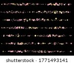 pink gold confetti circle... | Shutterstock .eps vector #1771493141