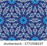 ornamental mandala design... | Shutterstock .eps vector #1771508237