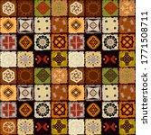 ethnic seamless pattern. tribal ... | Shutterstock .eps vector #1771508711