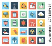 colorful ecology and energy set ... | Shutterstock .eps vector #1771509614