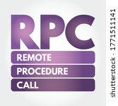 rpc   remote procedure call... | Shutterstock .eps vector #1771511141