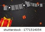 birthday background design with ... | Shutterstock .eps vector #1771514054