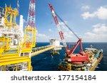 Large Crane Vessel Installing...