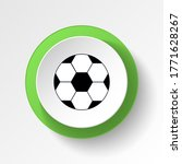 cartoon ball toy colored button ...