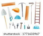 collection of hand tool. set of ...   Shutterstock .eps vector #1771633967