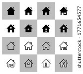 home vector icon modern and...