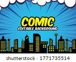 comic book style background ... | Shutterstock .eps vector #1771735514