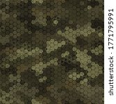 texture military olive and tan... | Shutterstock .eps vector #1771795991