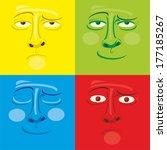 emotions | Shutterstock .eps vector #177185267
