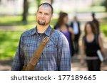 portrait of confident male...   Shutterstock . vector #177189665