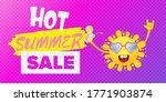 summer sale horizontal web... | Shutterstock .eps vector #1771903874