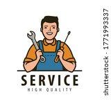 service  maintenance logo.... | Shutterstock .eps vector #1771993337