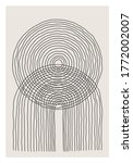 trendy abstract creative... | Shutterstock .eps vector #1772002007