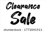 Clearance Sale Brush Hand Drawn ...