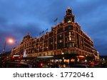 Famous London Department Store...