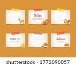 vector illustration set of ... | Shutterstock .eps vector #1772090057