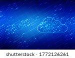 2d rendering technology cloud... | Shutterstock . vector #1772126261
