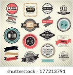 premium quality  guarantee and... | Shutterstock . vector #177213791