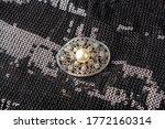 Vintage Pearl Jewelry Brooch O...