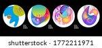 modern set of abstract banners. ...   Shutterstock .eps vector #1772211971