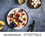 Salad Bowl With Purple Basil ...
