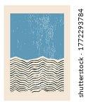 minimal 20s geometric design... | Shutterstock .eps vector #1772293784