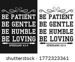 be patient  be humble. be... | Shutterstock .eps vector #1772323361