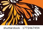 butterfly color style vector... | Shutterstock .eps vector #1772467454
