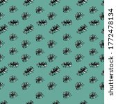 seamless pattern with... | Shutterstock .eps vector #1772478134