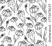 seamless pattern with... | Shutterstock .eps vector #1772478137