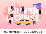 driver license concept. people... | Shutterstock .eps vector #1772529731