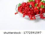 Fruit vase with strawberries...