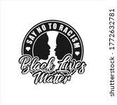 black lives matter vector...   Shutterstock .eps vector #1772632781
