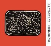 camping nature adventure wild... | Shutterstock .eps vector #1772641754
