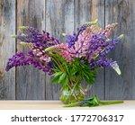 Bouquet Of Purple Lupine...