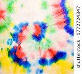 rainbow swirl. colorful pastel... | Shutterstock . vector #1772724347