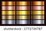 gold rose  silver  bronze ...   Shutterstock .eps vector #1772734787