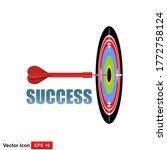 success concept. business...   Shutterstock .eps vector #1772758124