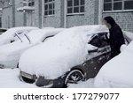 Cars After A Snowfall....