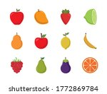 flat style icon set design ...   Shutterstock .eps vector #1772869784