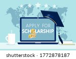 apply online for scholarships...
