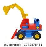 Children\'s Toy Excavator Made...