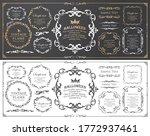 halloween frame material ...   Shutterstock .eps vector #1772937461