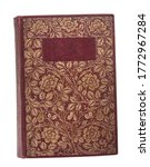 Vintage Old Books Isolated On...