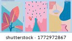set of three abstract...   Shutterstock .eps vector #1772972867
