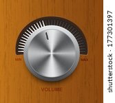 the volume control on the...