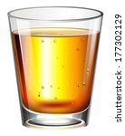 illustration of a glass of... | Shutterstock .eps vector #177302129