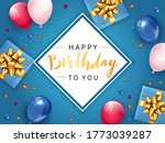 white card with gold lettering... | Shutterstock . vector #1773039287