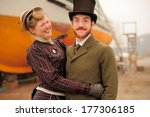 vintage life style | Shutterstock . vector #177306185